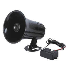 4 Sound Loud Horn Car Warning Alarm Police Fire Siren PA Speaker
