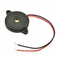 85db 12v 1300Hz ac piezo buzzer 30mm for light photocopier