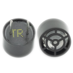 Transmitter And Receiver Open Type Ultrasonic Probe Black Sensor