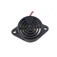 30mm 12V 90dB continuous tone electric buzzer for alarm